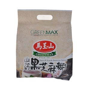Greenmax Yam & Black Sesame Cereal 525g