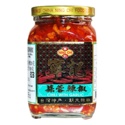 Ning Chi Chili With Garlic 280g