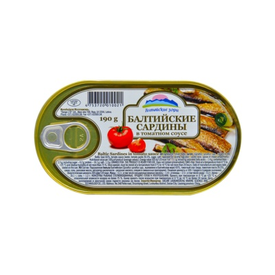 Baltic Sardines in Tomato Sauce 190g