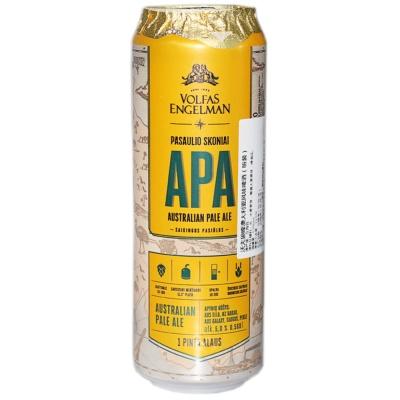 沃夫狼啤澳大利亚风味啤酒(精酿啤酒) 568ml