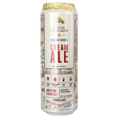 沃夫狼啤美式艾尔风味啤酒 568ml
