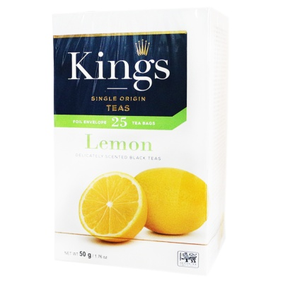 King's Lemon Black Teas 50g