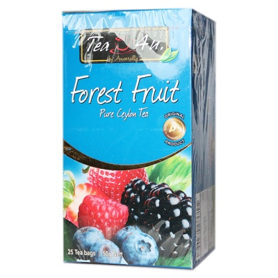 TEA4U Forest Fruit Pure Ceylon Tea 2*25g