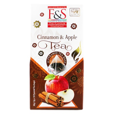 Fineness & Selection Cinnamon & Apple Tea 30g