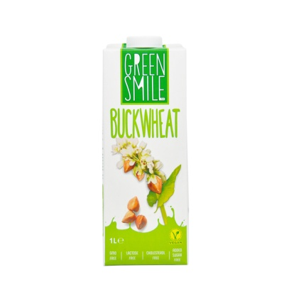 Green Smile Buckwheat Vegan Milk 1L