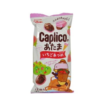 固力果可爱爱心形状草莓味代可可脂巧克力制品30g