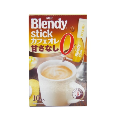 AGF Blendy Stick Latte Instant Coffee Drink 89g