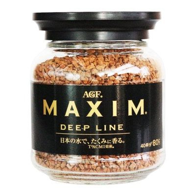 Agf Maxim Deep Line Instant Coffee 80g