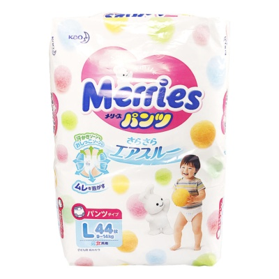 Kao Merries Pants Type Diaper L 44p