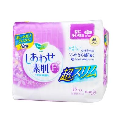 花王乐而雅F系列卫生巾25CM日用 17片