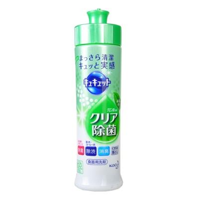 花王洗洁精本体7号绿色绿茶味 240ml