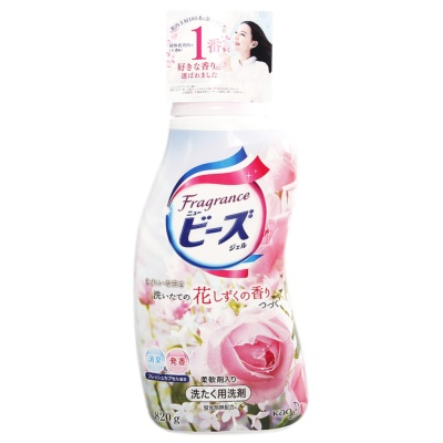 Kao Rose Scent Laundry Detergent 820g