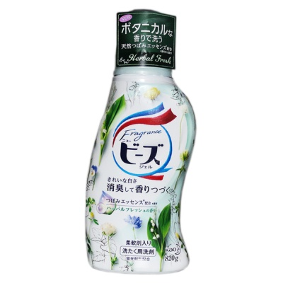 Kao Herbal Fresh Laundry Liquid 820g