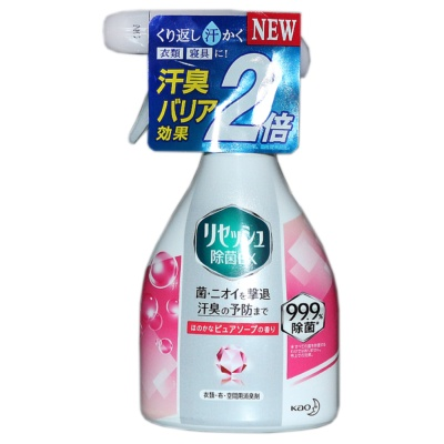 Kao Sterilization Deodorizing Clothes Spray 370ml