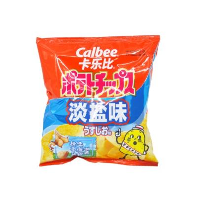 Calbee牌淡盐味薯片(膨化食品)60g