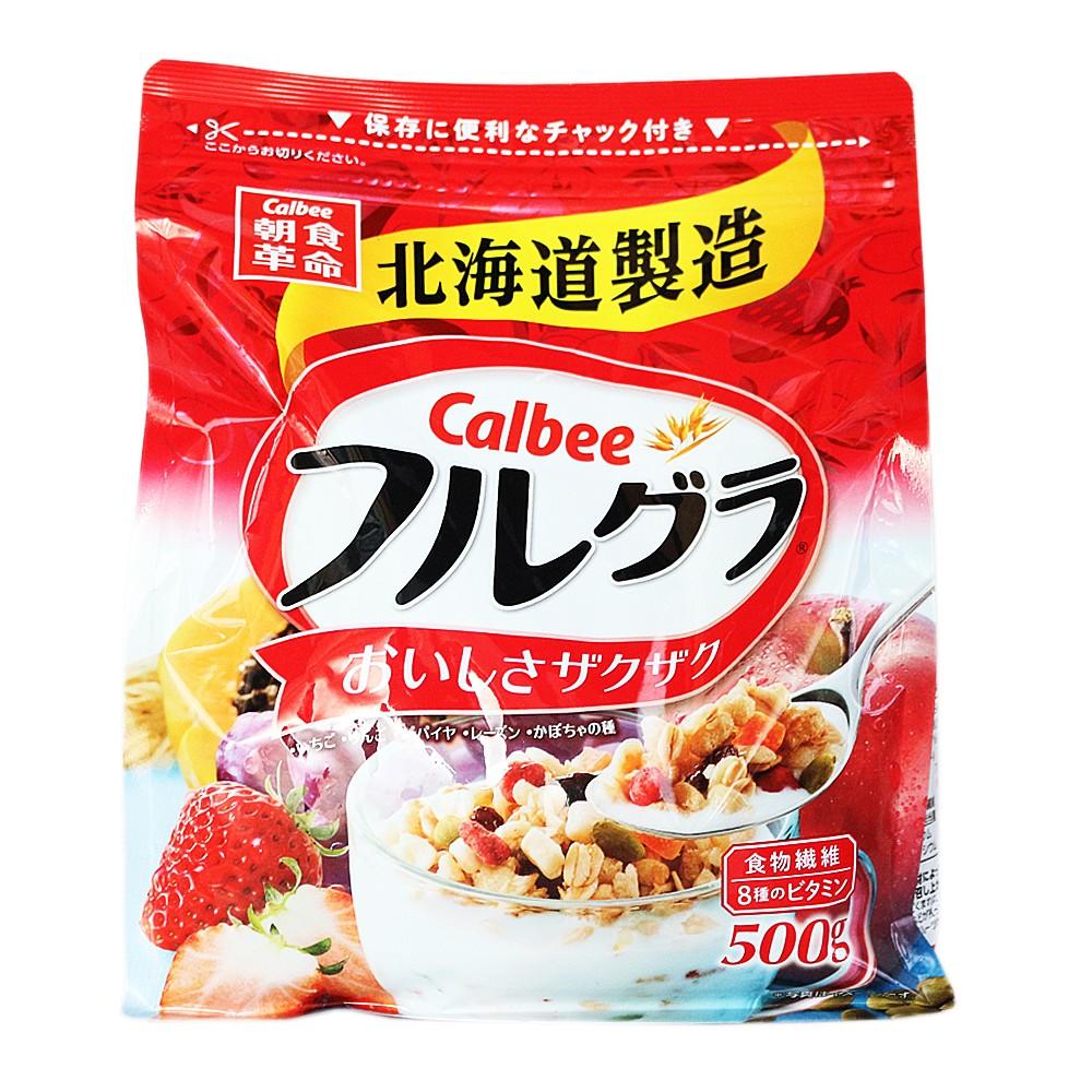 Calbee Fruit Cereal 500g