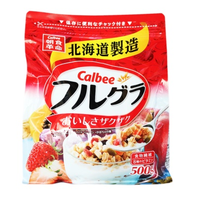 Calbee Fruit Cereal 500g