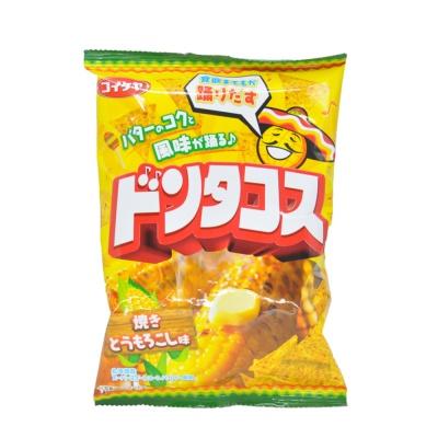 Hu Chi Wu Roasted Corn Flavor Tortilla Chips 64g