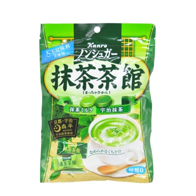 Kanro抹茶双味无糖糖果 69g