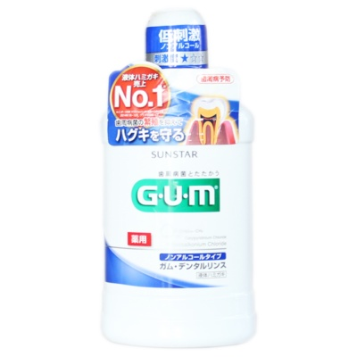 G·U·M Mouthwash Fresh Mint 500ml