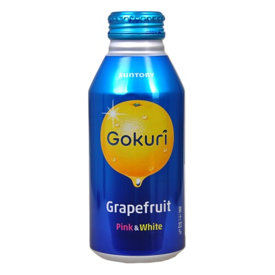 Suntory Pink&White Grapefruit Flavored Soft Drink 400ml
