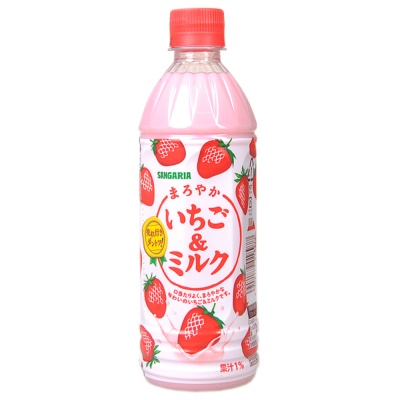 Sangaria Strawberry Milk Drink 500ml