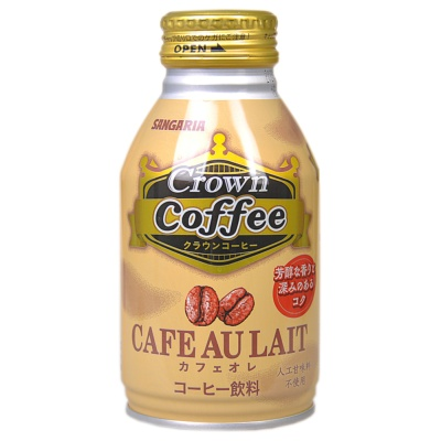 Sangaria Crown Coffee Au Lait Drink 260g