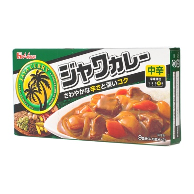House Java Curry Medium Hot 185g
