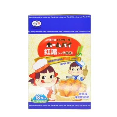 不二家千层饼(香草味) 88g