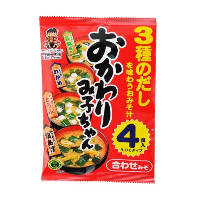Shinsyuichi Instant Miso Soup(Fried Bean Curd·Wakame Seaweed) 84.6g