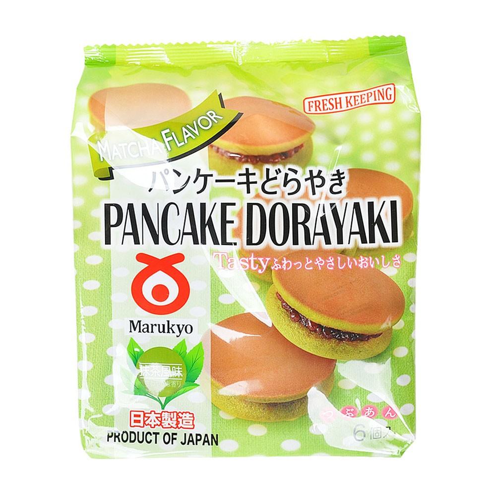 Marukyo Matcha Flavor Pancake Dorayaki 310g