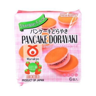 Marukyo Red Bean Pancake Dorayaki (Strawberry)310g