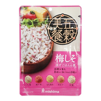 Mishima Purple Perilla Plum Rice Seasoning 24g