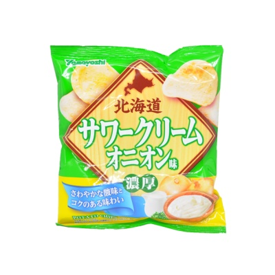 Hokkaido Sour Cream & Onion Potato Chips 50g