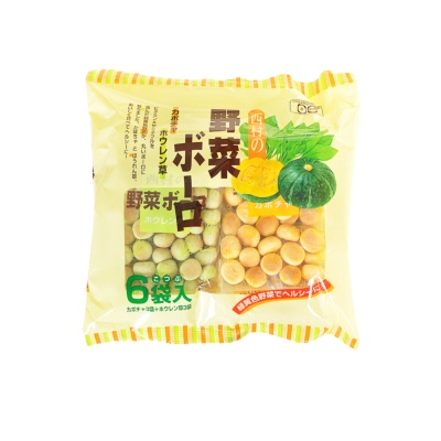 西村蔬菜味小馒头 120g