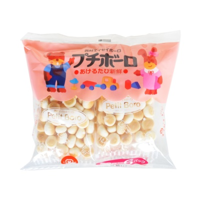 Nishimura Small Steamed Bread Cookies 120g