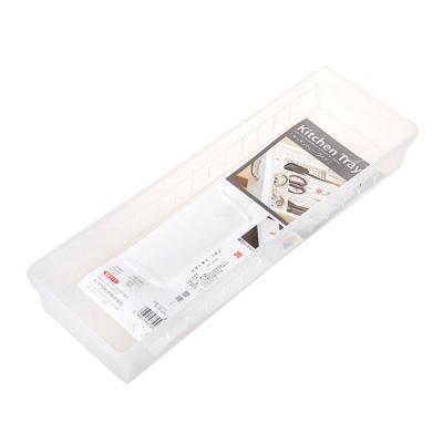 Inomata Kitchen Tray White 34.8*12*5Hcm