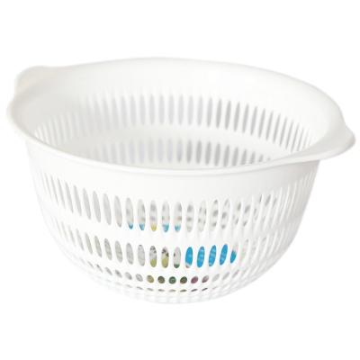 Coppo Drain Plastic Basket-Big(White) 1p