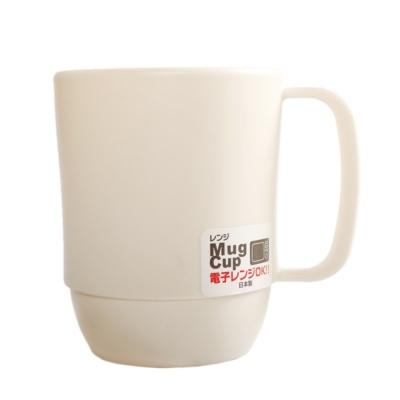 Inomata Mug Cup (White) 7.9*10.7*9.9