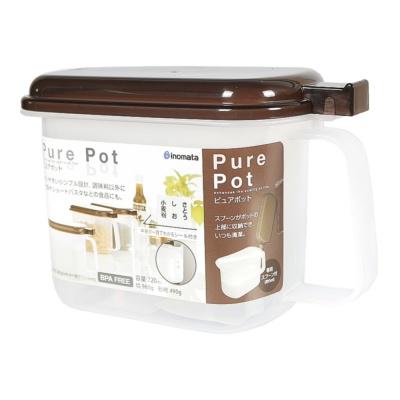 Inomata Pure Pot(With Spoon) 720ml