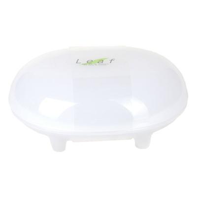 Inomata Plastic Soap Box(White) 12.6*9.7*5.6