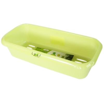 Inomata Storage Basket(Green) 29*13.1*7.4