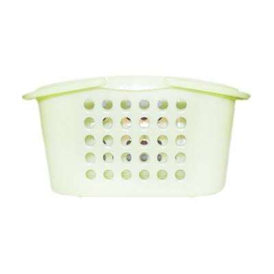 Inomata Plastic Basket(Green) 24*18*12