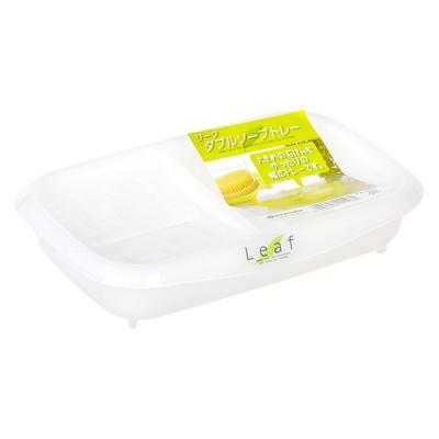 浪漫樱花塑料皂盒(白)
