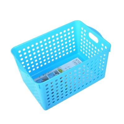 Inomata Deep Stock Basket (Blue) 18*27.4*14.3