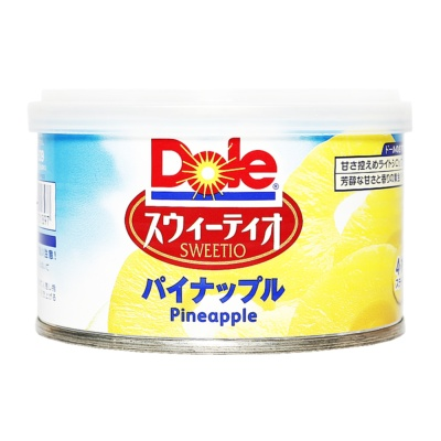 Dole Canned Pineapple Slices In Light Syrup 227g