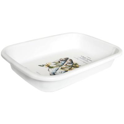 Nakaya White Series Plate 25.5*17.8*4.6Hcm
