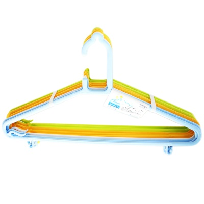 Kokubo Mixed Color Hangers (Blue/White/Yellow/Green)