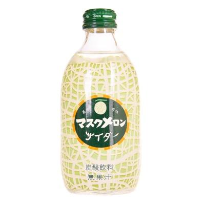 友树哈密瓜味碳酸饮料 300ml