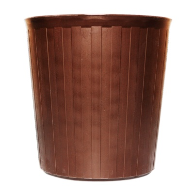 Inomata Trash Can(Brown) 5L